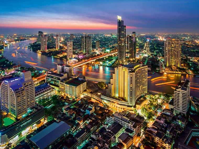 Bankok-skyline